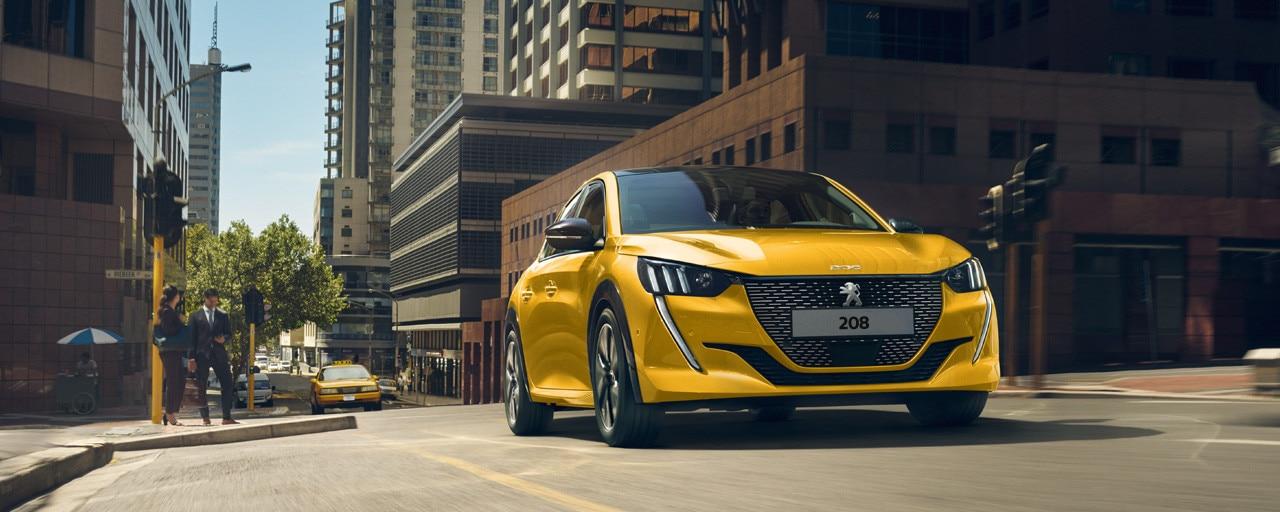 Peugeot 208 - benzin, diesel eller el-motor
