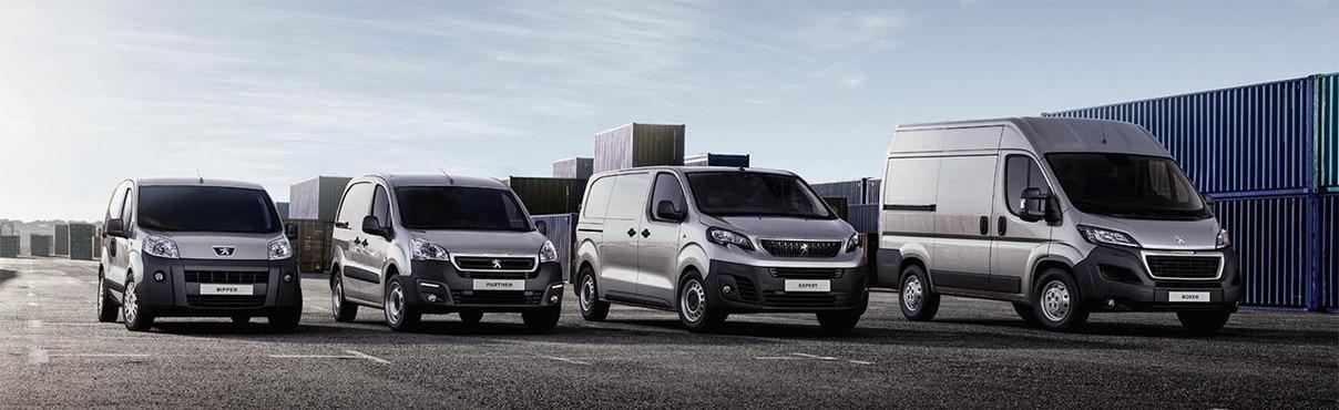 Peugeot varebiler range