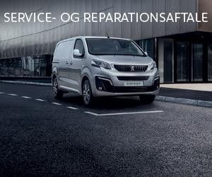 Expert service reparationsaftale