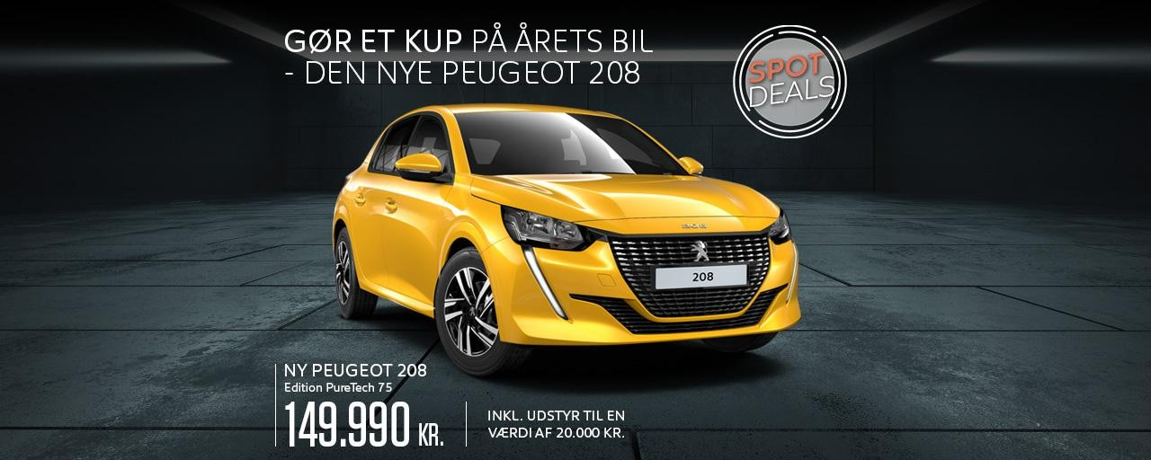 Peugeot 208 Edition