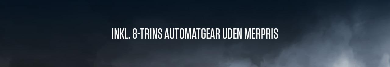 Peugeot 508 Allure Pack - Inkl. EAT8 automatgearkasse