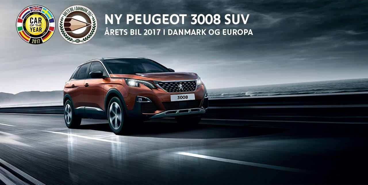 3008 SUV Car of the Year 2017