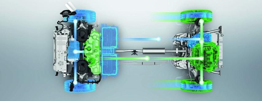 3008 SUV Hybrid - Højtydende batterier