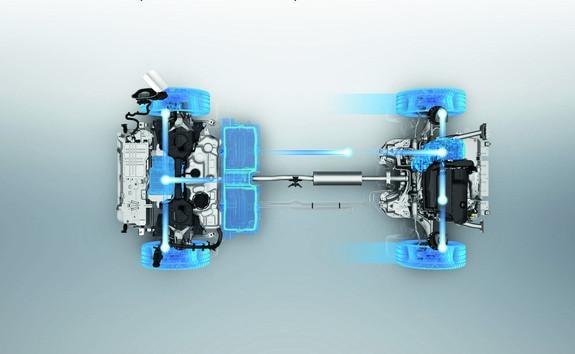 3008 SUV Hybrid - 4 hjulstræk