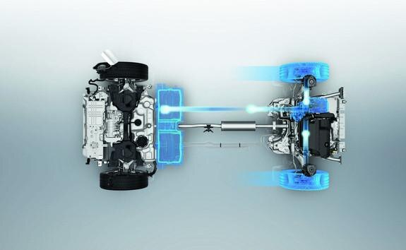 3008 SUV Hybrid - Energi ved bremsning