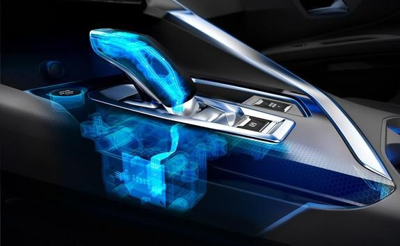 3008 SUV Hybrid - Elektrificeret e-EAT8 automatgearkasse