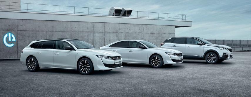 3008 SUV Hybrid - Peugeot Hybrid-modeller