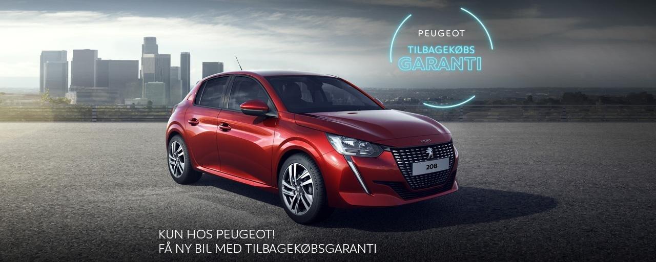 Peugeot Tilbagekøbsgaranti