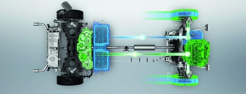 Peugeot 508 HYBRID - Kraftigt batteri
