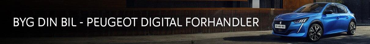 Peugeot Digitale Forhandler