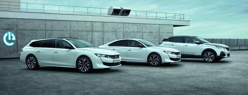 Peugeot HYBRID modeller
