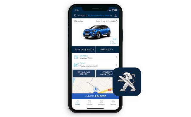 Peugeot e-2008 SUV: MyPeugeot® App