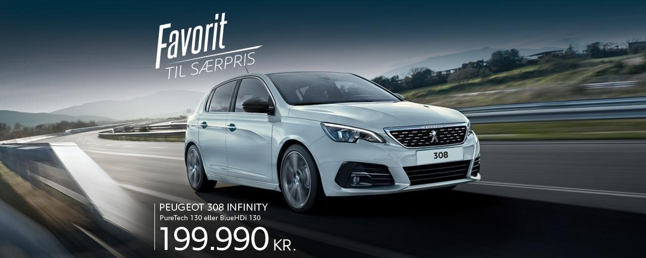 Peugeot 308 Infinity - Førsteklasses familiebil