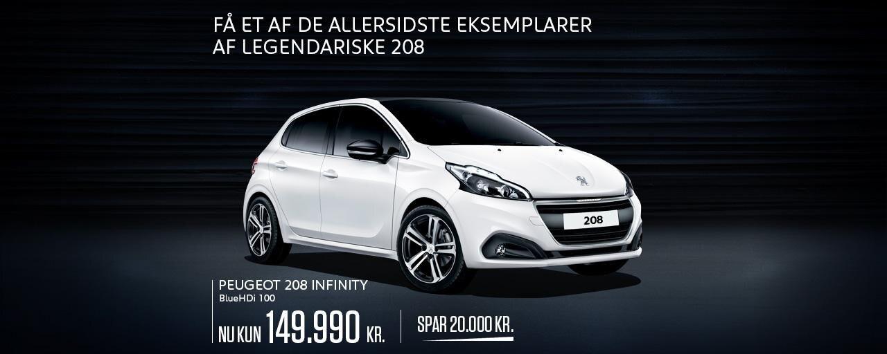 Peugeot 208 Infinity - En legendarisk bestseller