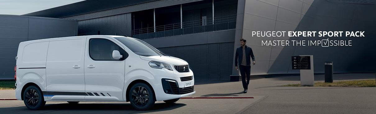 Peugeot Expert Sport - El veludstyret varebil