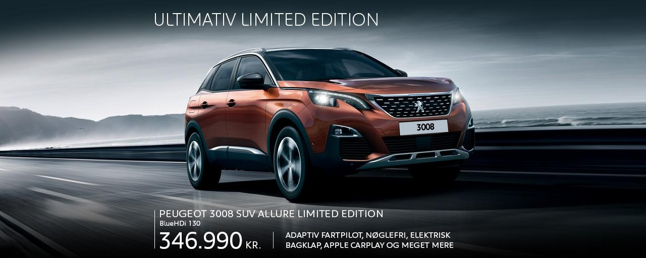 3008 SUV Allure ltd