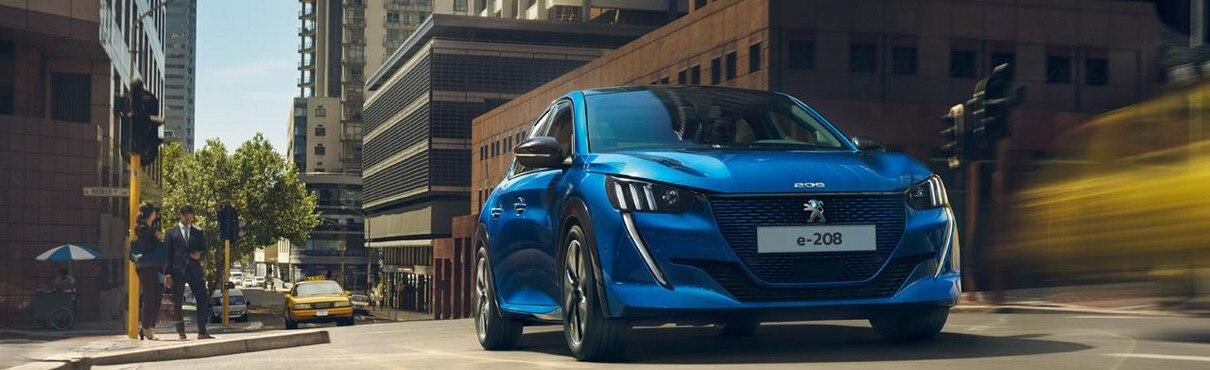 Ny Peugeot e-208 - Ny el-bil og ny front