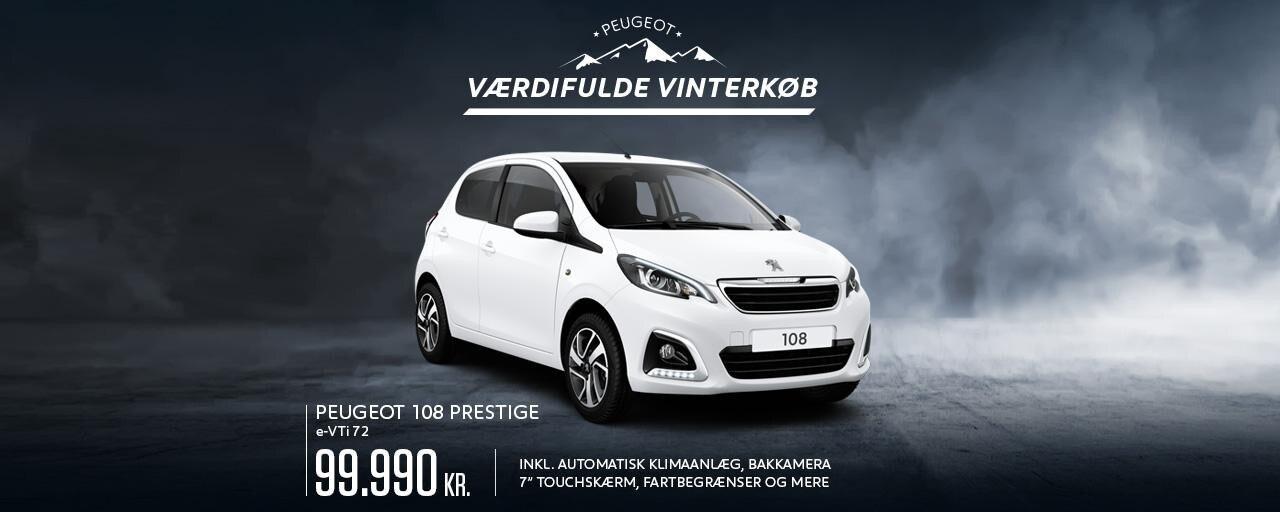 Peugeot 108 Prestige
