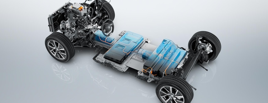 Ny Peugeot e-208 - Elektrisk chassis
