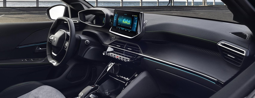 Ny Peugeot e-208 - Nyt Peugeot i-Cockpit® 3D