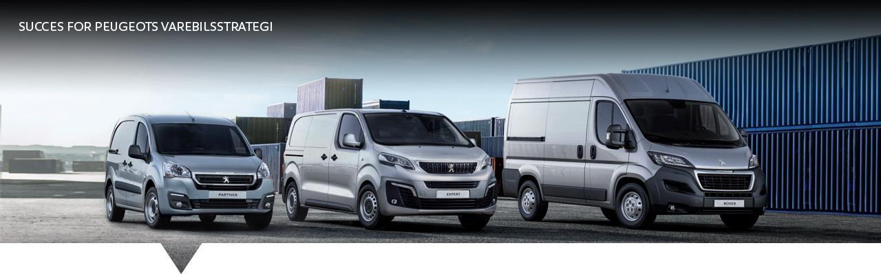 Peugeot nyheder varebilsstrategi