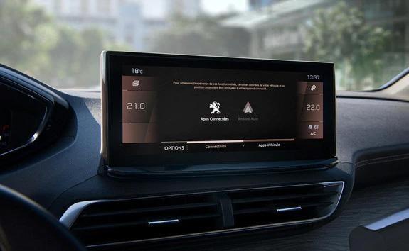 Peugeot 5008 SUV: Optimeret Peugeot i-Cockpit® med ny touchskærm