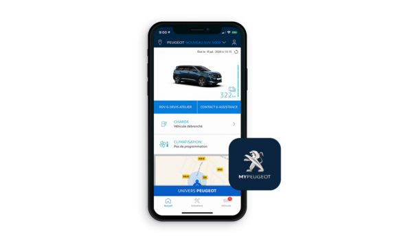 MyPeugeot app - vær connected med din 5008 SUV