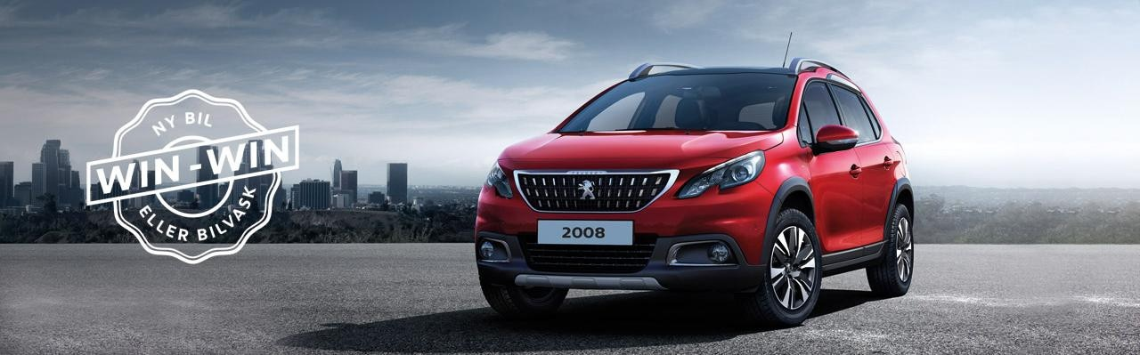 Peugeot 2008 Desire Sky win-win