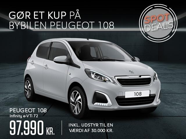 Peugeot 108 Infinity