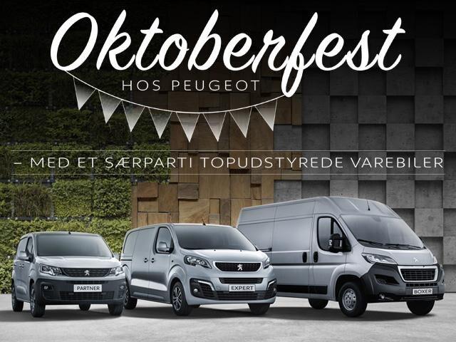 Oktoberfest hos Peugeot