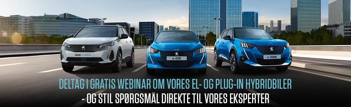 Peugeot el og hybridbiler