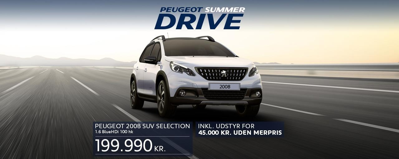 2008 SUV Selection Summer Drive