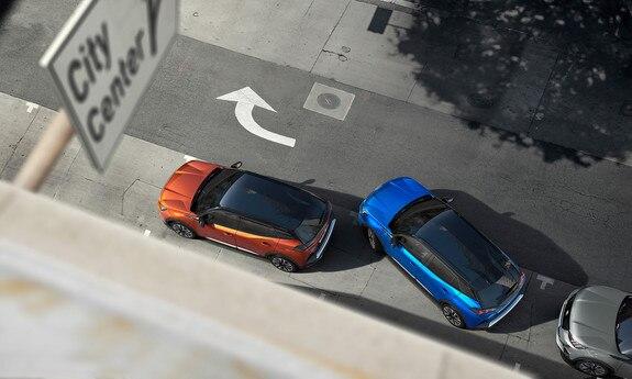 Peugeot 2008 SUV: Effektiv hjælp til parkering
