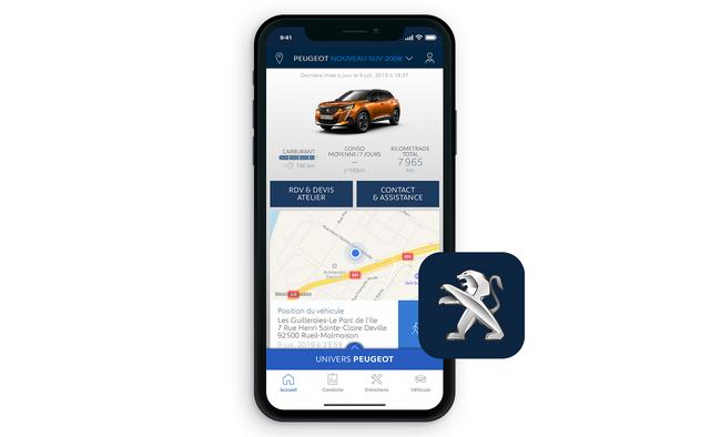 Peugeot 2008 SUV: MyPeugeot App