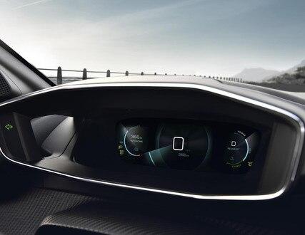 Ny Peugeot e-208 - Digital 3D instrumentgruppe
