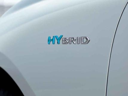 Peugeot 508 SW HYBRID - Hybrid emblem