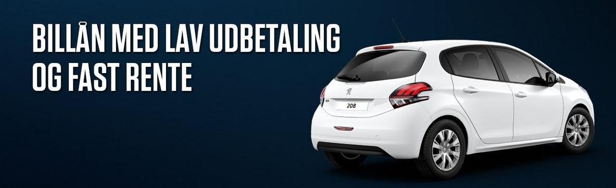 Peugeot-lav-udbetaling