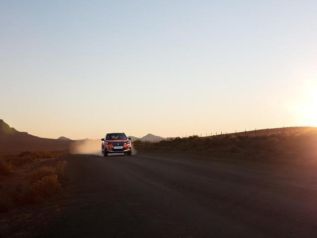 """Peugeot 2008 SUV med """"Advanced Grip Control"""", der tilpasser bilen bedre til vejforholdene"""
