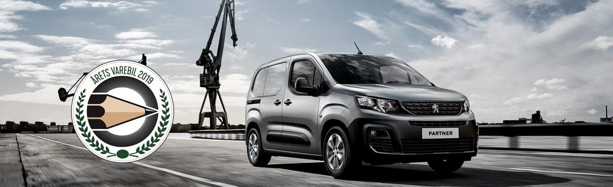 Peugeot Partner - Robust og markant varebil