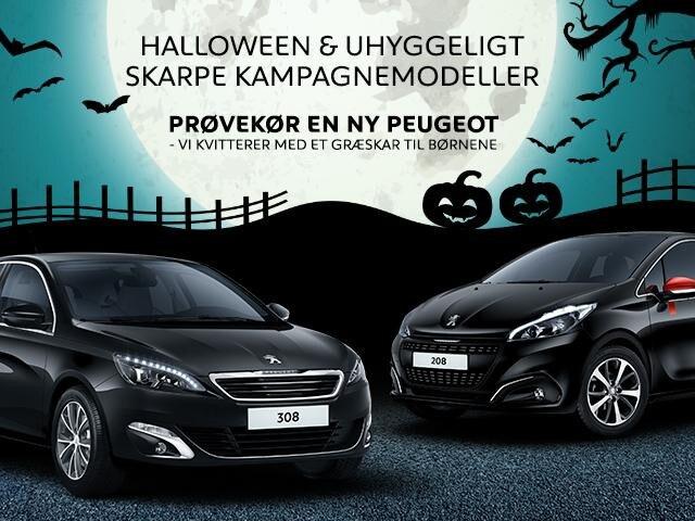 Halloween hos Peugeot