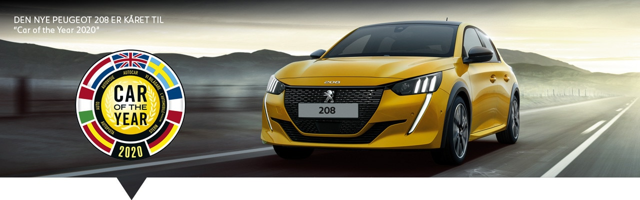 Ny Peugeot 208 - Car of the Year 2020